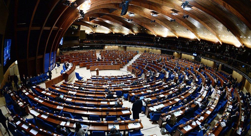 Plenarne posiedzenie Zgromadzenia Parlamentarnego Rady Europy