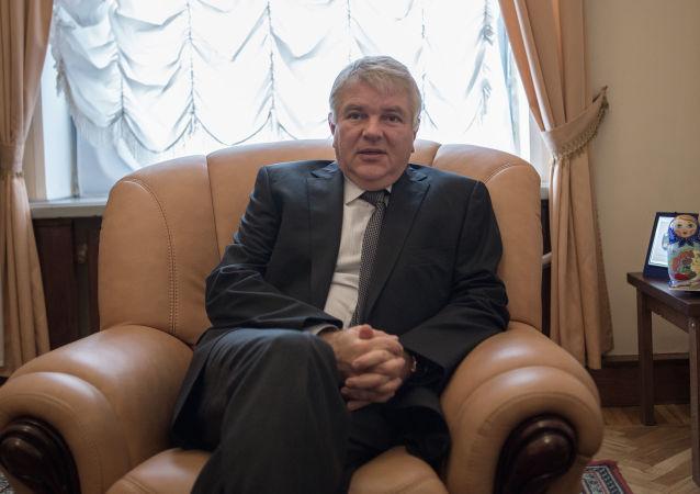 Wiceminister spraw zagranicznych Rosji Aleksiej Mieszkow