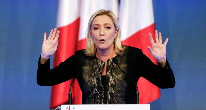 Przewodnicząca Frontu Narodowego Marine Le Pen