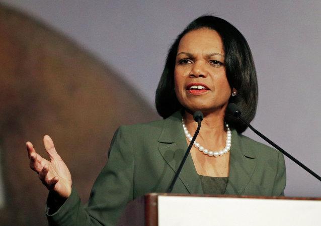 Była sekretarz stanu USA Condoleezza Rice
