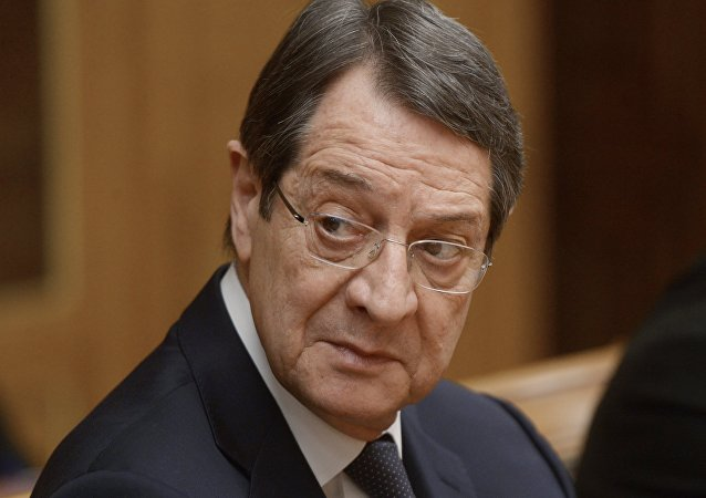Prezydent Cypru Nikos Anastasiadis