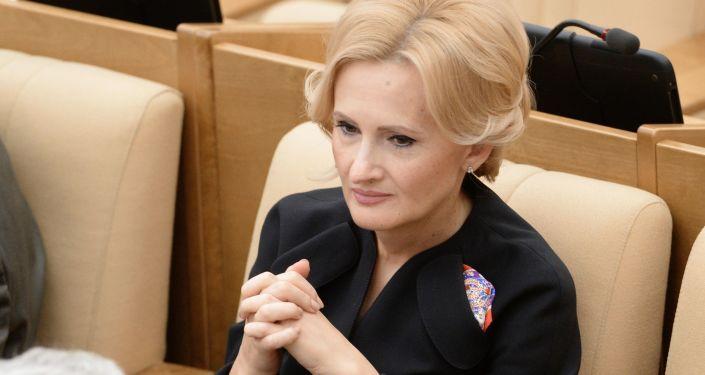 Przewodnicząca Komisji ds. Bezpieczeństwa i Walki z Korupcją Dumy Państwowej Irina Jarowaja