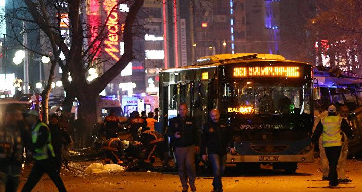 Zamach w Ankarze 13 marca 2016