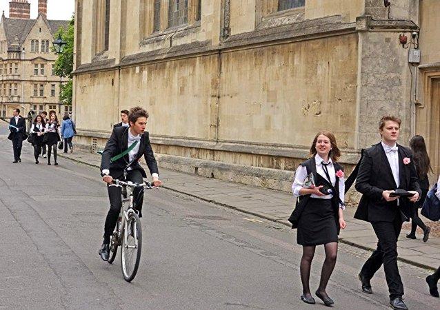 Studenci w Oxfordzie