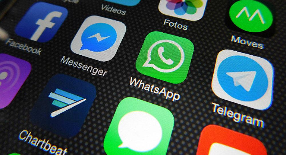 Whatsapp, Facebook Messenger, Telegram, Messages