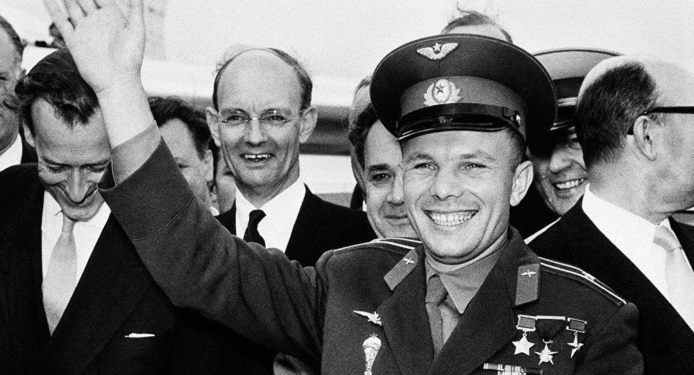 Radziecki kosmonauta Jurij Gagarin