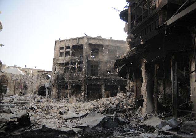 Ruiny miasta Aleppo