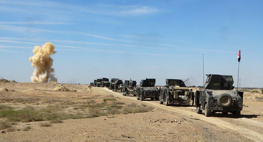 Irackie służby bezpieczeństwa w prowincji Anbar
