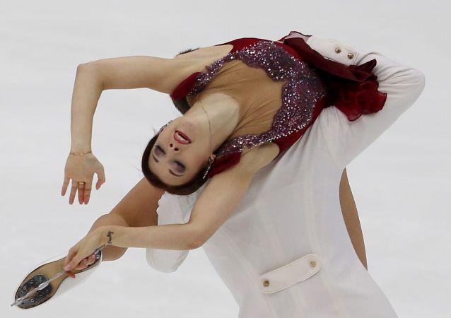 Łyżwiarka figurowa Ekaterina Bobrowa