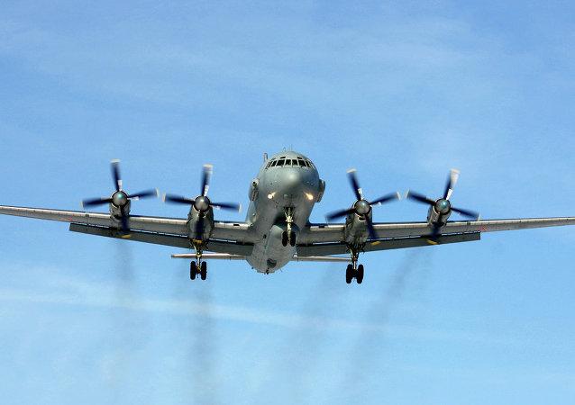 Rosyjski samolot zwiadowczy Ił-20