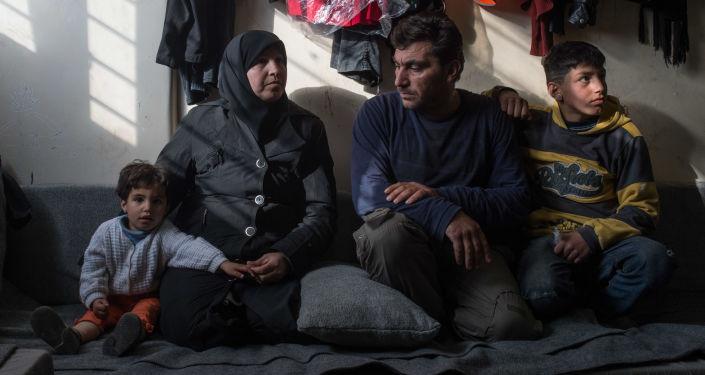 Obóz dla uchodźców w Damaszku