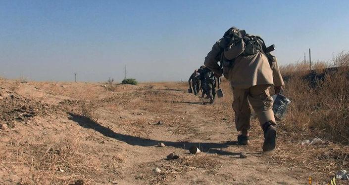 Bojownicy Daesh w Syrii