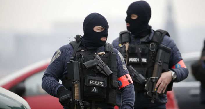 Siły specjalne na ulicach Brukseli