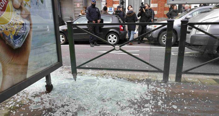 Operacja antyterrorystyczna w dzielnicy Schaerbeek w Brukseli