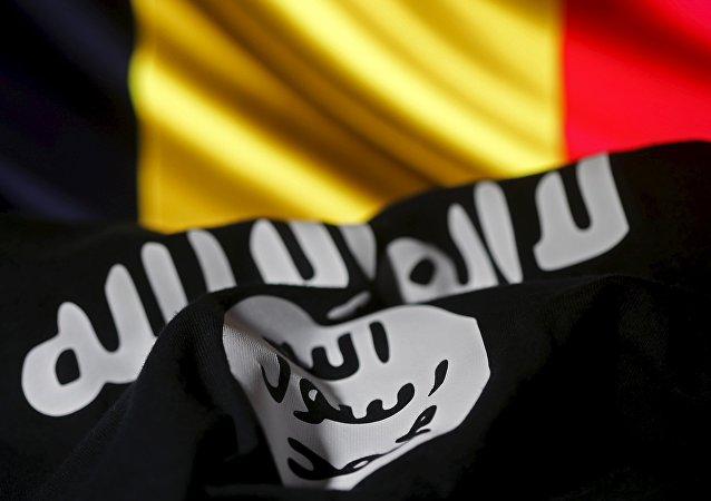 Flagi Belgii i PI