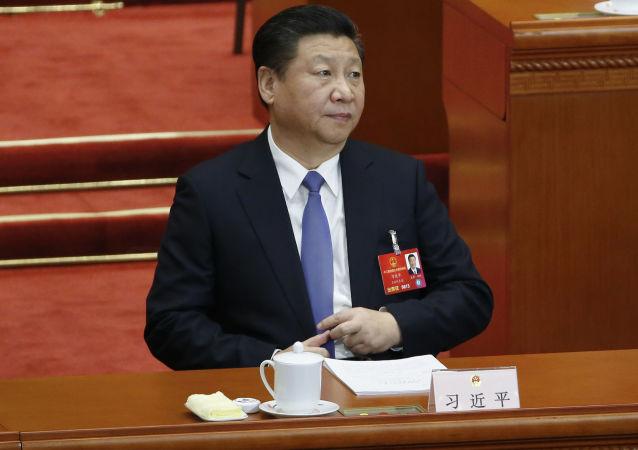 Przewodniczący Chin Xi Jinping