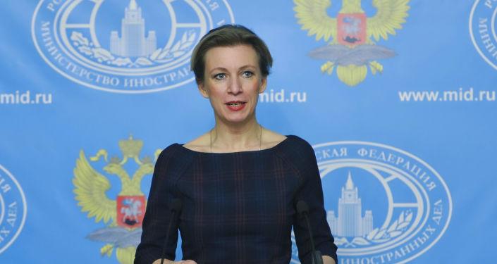 Rzeczniczka MSZ Rosji Maria Zachorowa