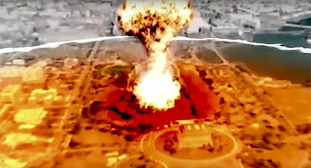 Symulowany atak nuklearny KRLD na Stany Zjednoczone