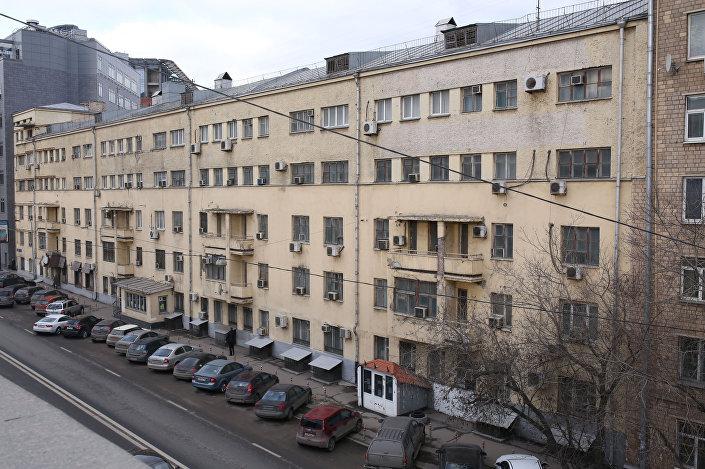Dom przy ulicy Sadowniczeskaja w Moskwie