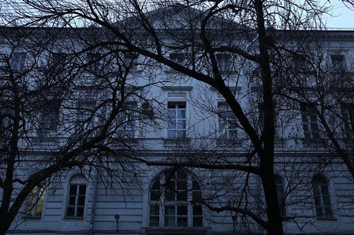Szpital okulistyczny przy Mamonowskim pereułkie 7 w Moskwie