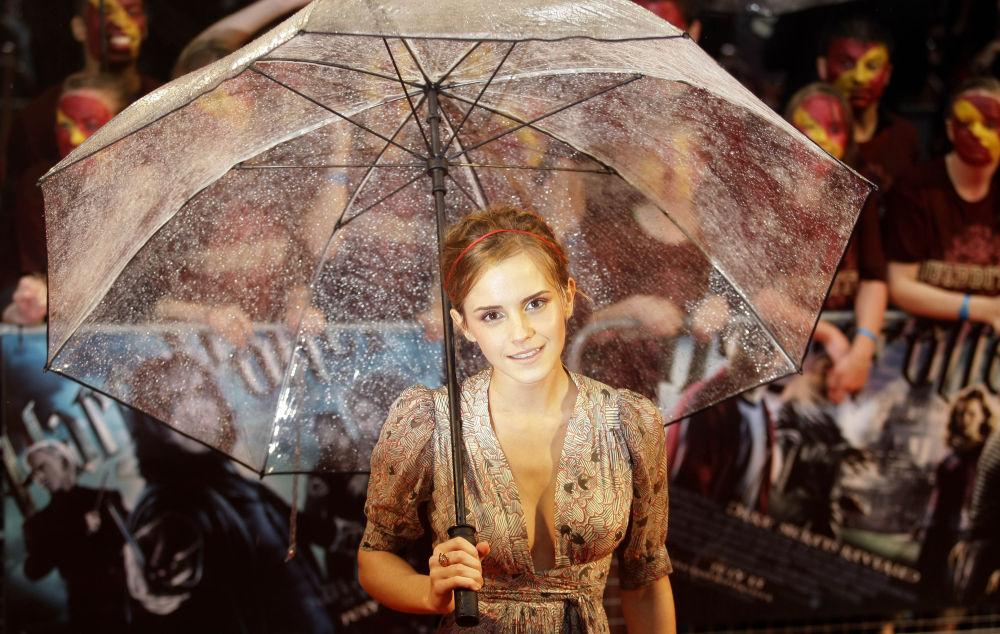 Brytyjska aktorka Emma Watson, 7 lipca 2009