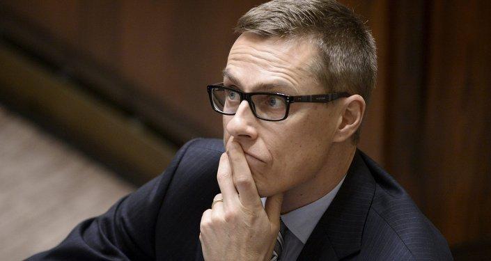 Premier Finlandii Alexander Stubb