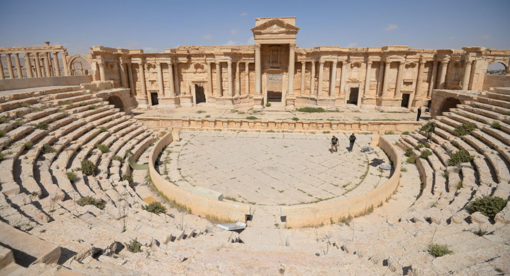 Ruiny historycznej części Palmyry