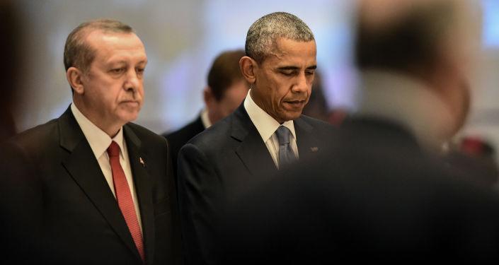 Prezydent Stanów Zjednoczonych Barack Obama i przywódca Turcji Recep Tayyip Erdogan