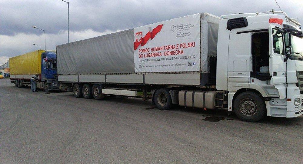 Polska pomoc humanitarna dla Donbasu