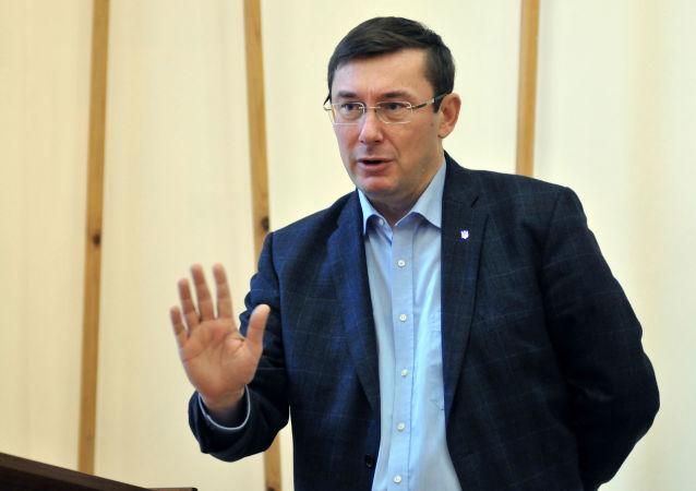 Lider Bloku Petro Poroszenki Jurij Łucenko