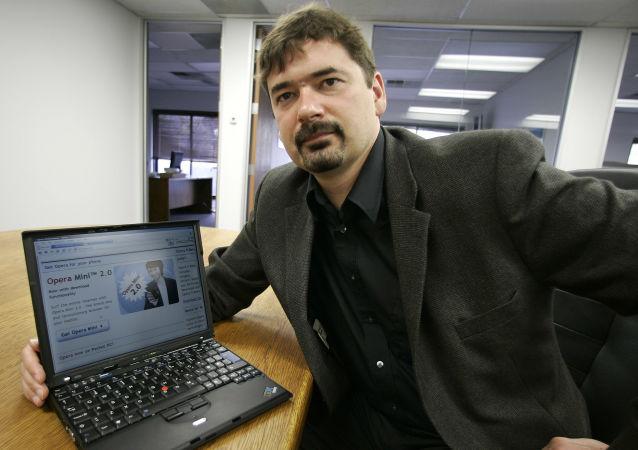 Założyciel i były szef Opera Software Jon von Tetzchner