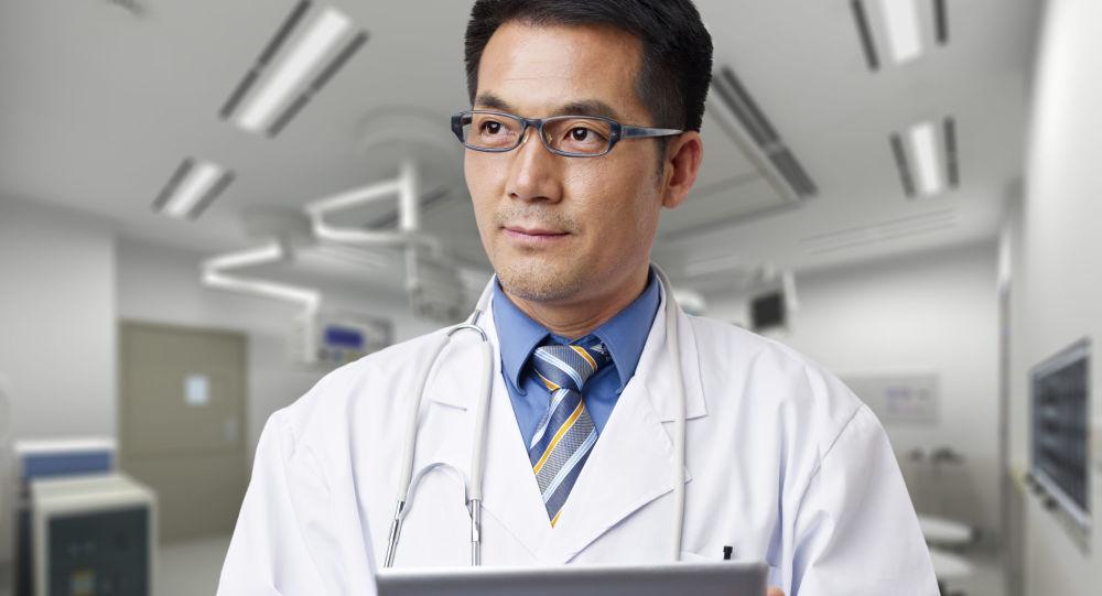 Lekarz w szpitalu