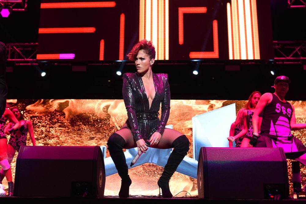Śpiewaczka Jennifer Lopez