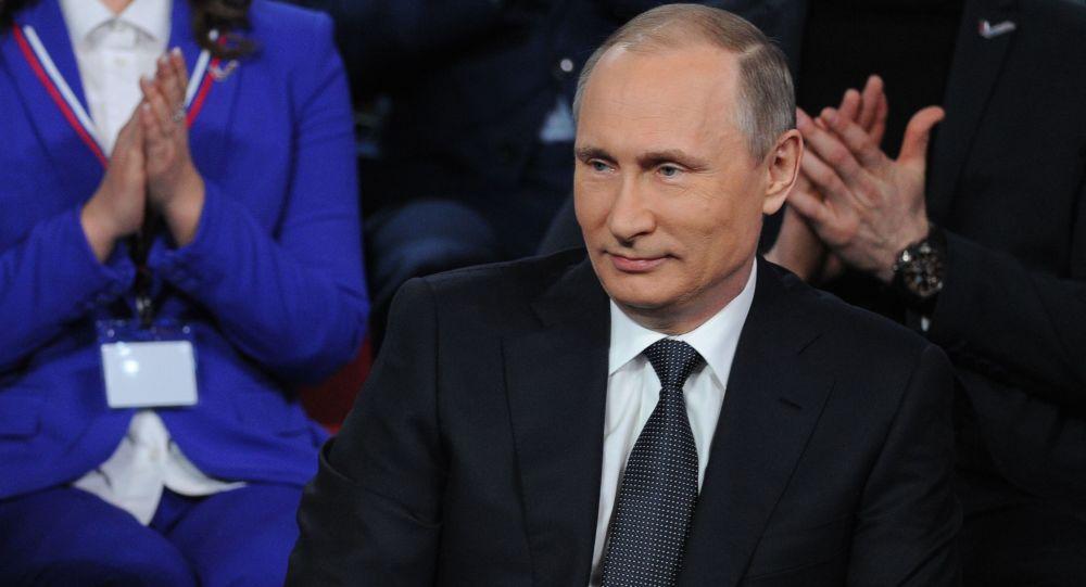 Władimir Putin na III Frum Medialnym Prawda i Sprawiedliwość