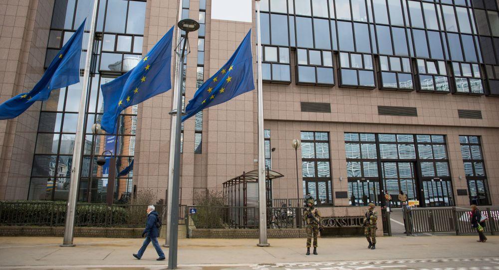 Gmach Parlamentu Europejskiego w Brukseli