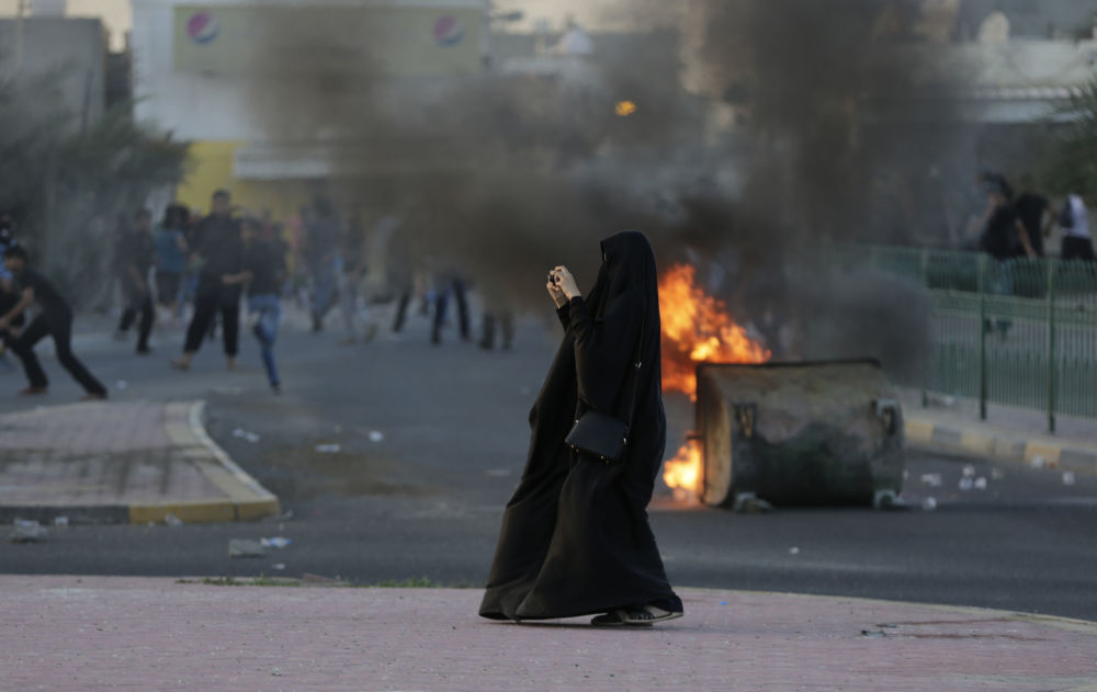 Akcja protestacyjna w Bahrajnie