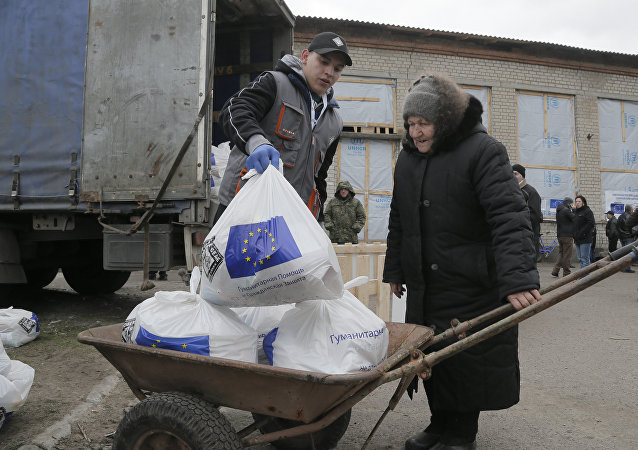 Unijna pomoc humanitarna dla Ukrainy