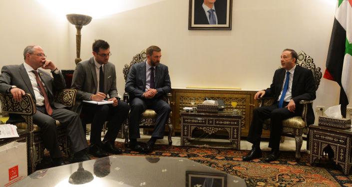Delegacja rosyjskich parlamentarzystów w Syrii
