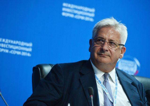 prezes Amerykańskiej Izby Handlowej w Rosji (AmCham) Alexis Rodzianko