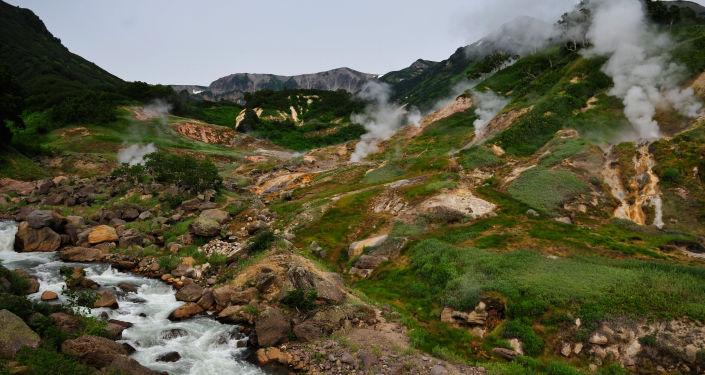 Dolina Gejzerów w Rezerwacie Kronockim