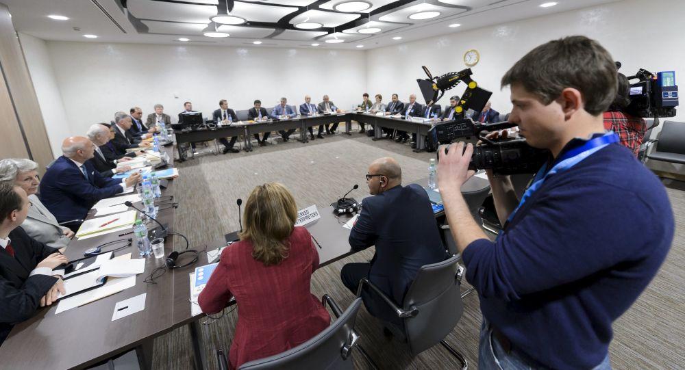 Spotkanie specjalnego wysłannika ONZ do Syrii Staffana de Mistury i Wysokiego Komitetu Negocjacyjnego w Genewie
