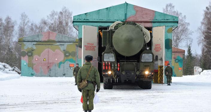 Rosyjski pocisk balistyczny dalekiego zasięgu RS-24 Jars