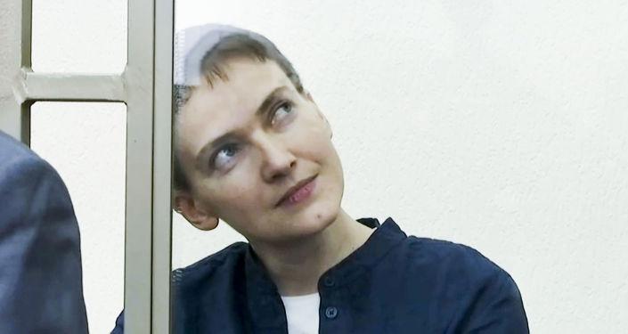 Ukraińska pilotka Nadieżda Sawczenko