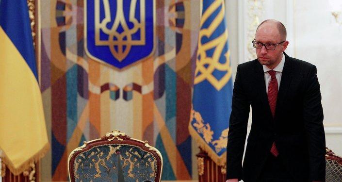 Premier Ukrainy Arsenij Jaceniuk