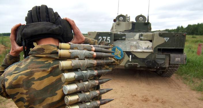 Bojowy wóz piechoty BMD-4 przeznaczony dla wojsk powietrznodesantowych