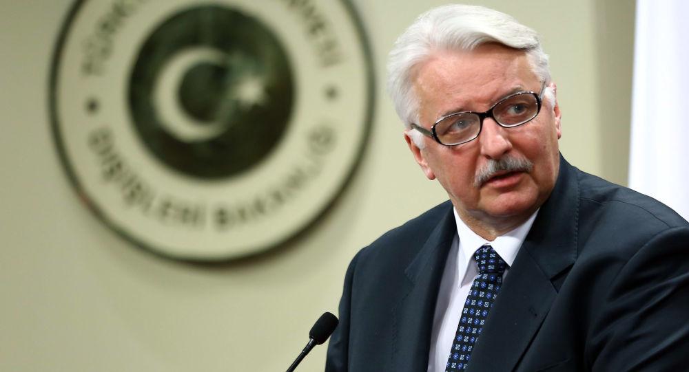 Poland's Foreign Minister Witold Waszczykowski