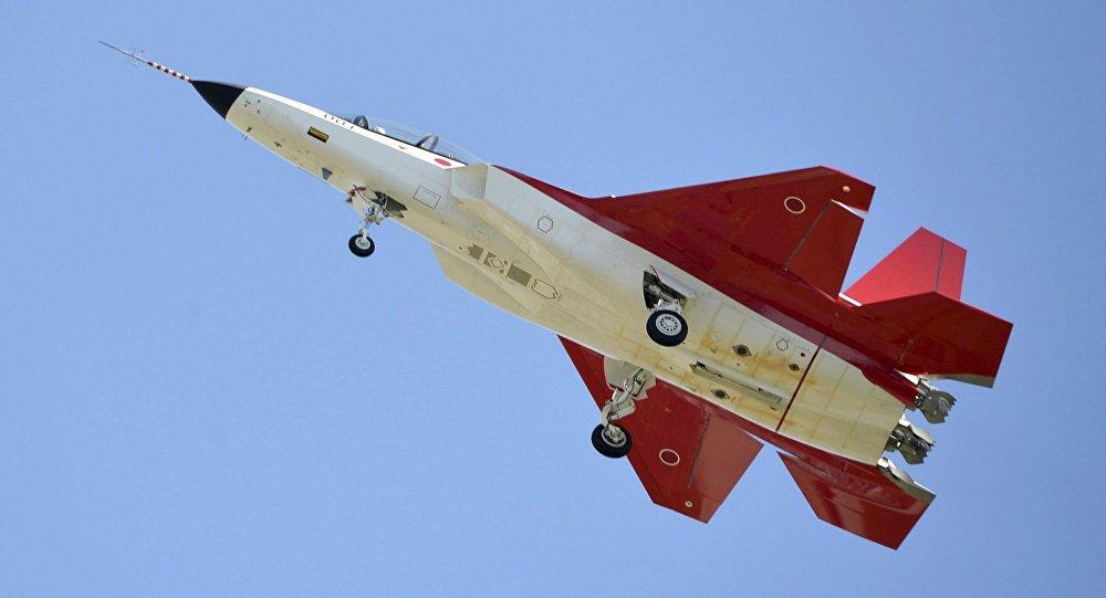 Prototyp pierwszego japońskiego myśliwca piątej generacji X-2 Shinshin