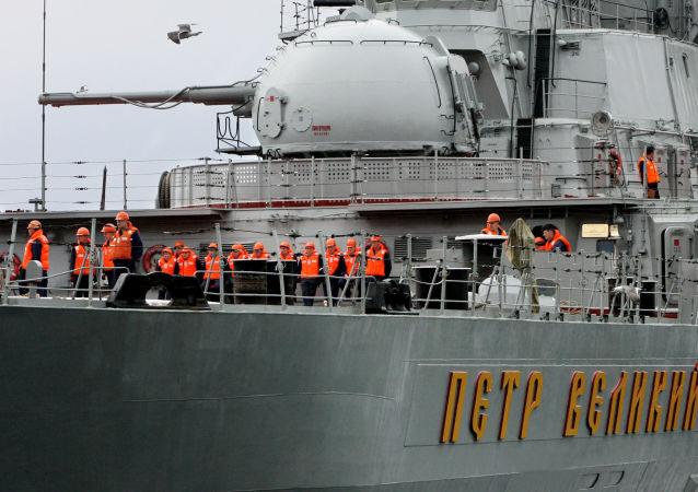 Ciężki atomowy krążownik rakietowy Piotr Wielki