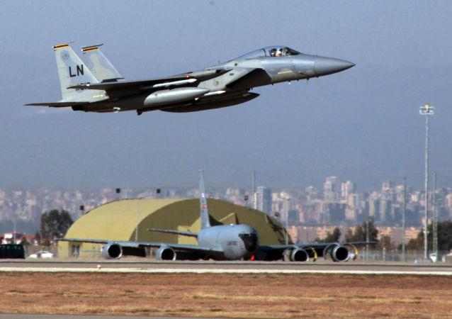 Amerykański myśliwiec F15