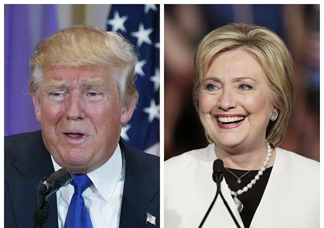Donald Trump i Hillary Clinton